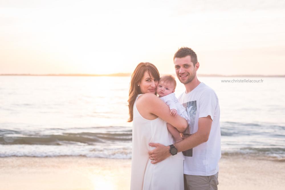 Séance naissance à la plage | Léna