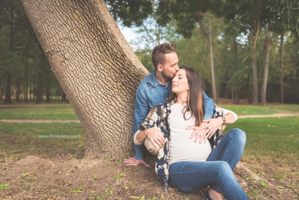 Séance grossesse d'automne | Julie