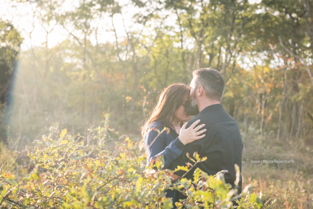 Save The Date en forêt | Mélanie & Fabien