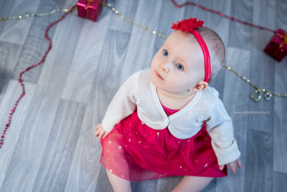 Séance bébé de Noël | Heilée
