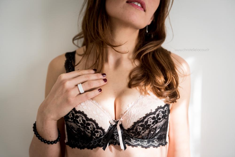 Séance Boudoir à domicile | Mlle S.