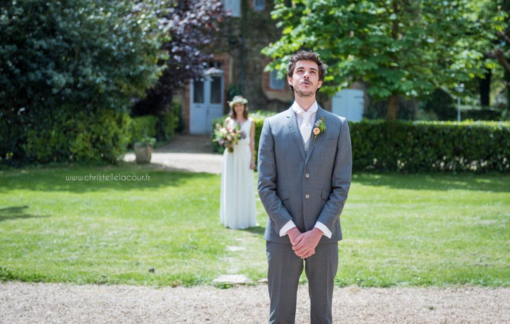 Mariage au château de Calaoué dans le Gers - la terrasse de la salle de l'Orangerie