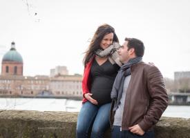Séance grossesse au centre de Toulouse | Muriel