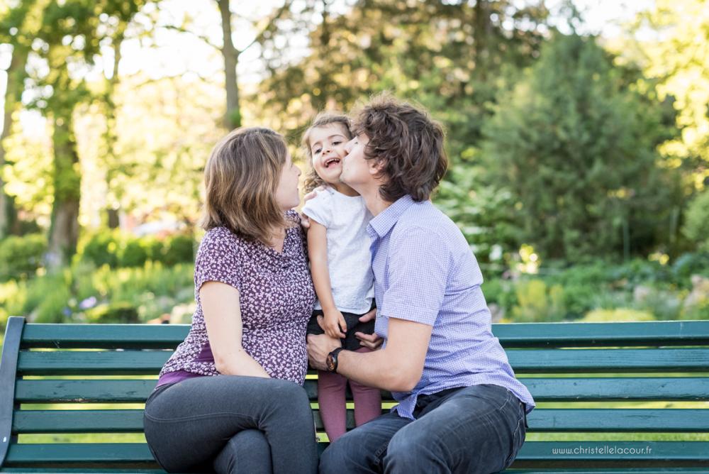 Séance grossesse au Jardin des Plantes de Toulouse | Haizea