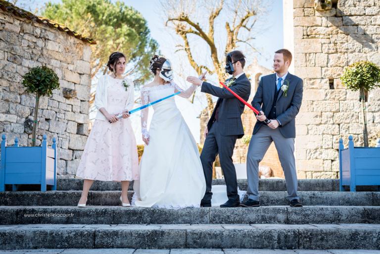 Mariage geek au Château de Cas