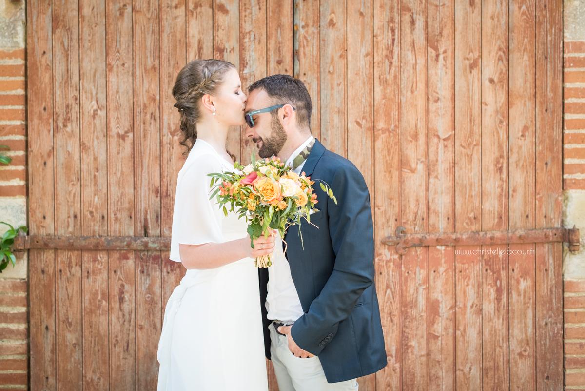 Mariage détendu aux Arches de la Jinolié dans le Tarn