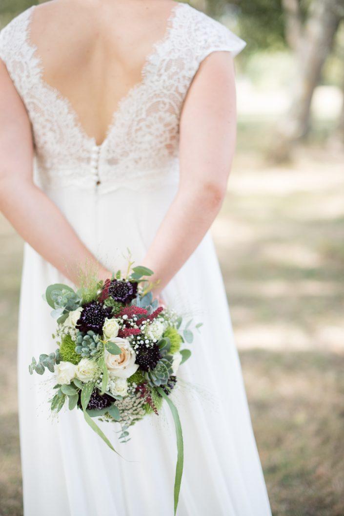 Bouquet de la mariée en succulentes à Toulouse - Christelle Lacour Photographe