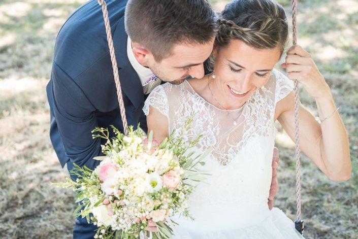 Photographe de mariage champêtre et convivial dans le Tarn à La Guiraude, Christelle Lacour Photographe