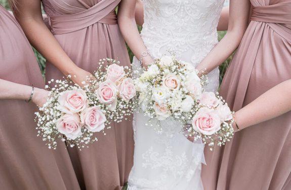 Mariage franco-anglais à Toulouse, bouquet des bridemaids