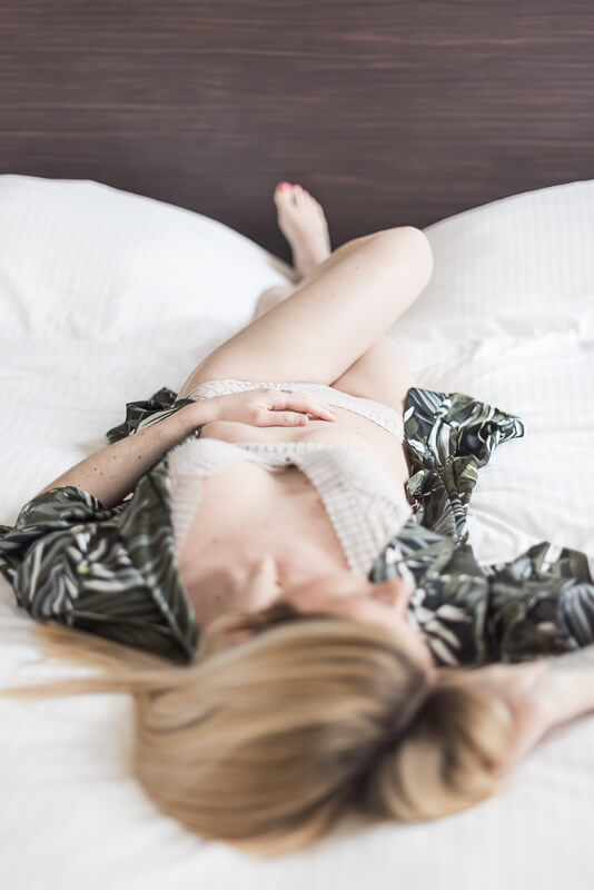 Se sentir belle en séance photo boudoir