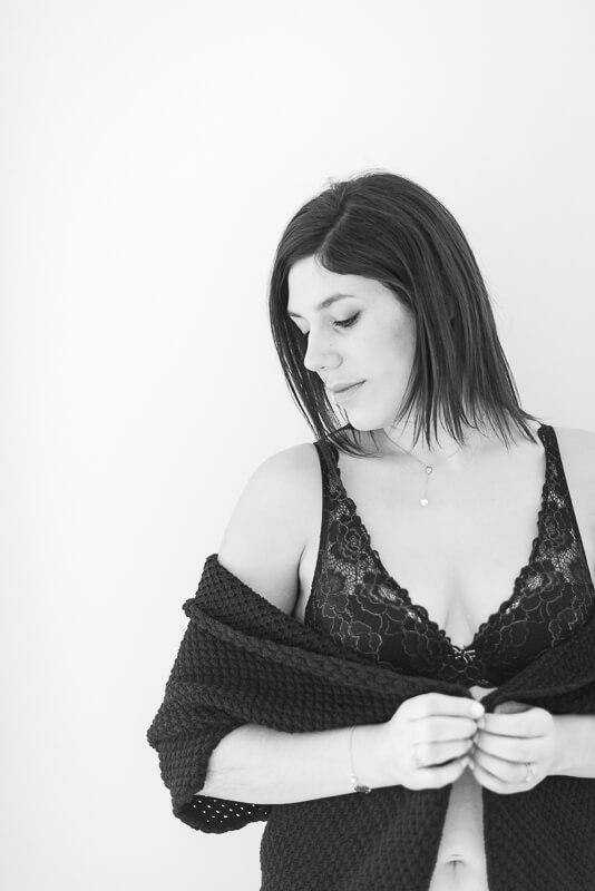 Portrait de femme intimiste à Toulouse