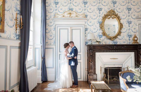 Photo des mariés au Château de Conques près de Toulouse