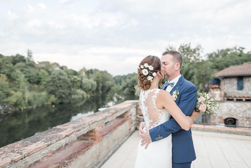 Photo de mariage à La Guiraude à Lavaur