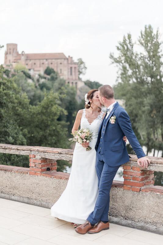 Photographe de mariage à La Guiraude à Lavaur