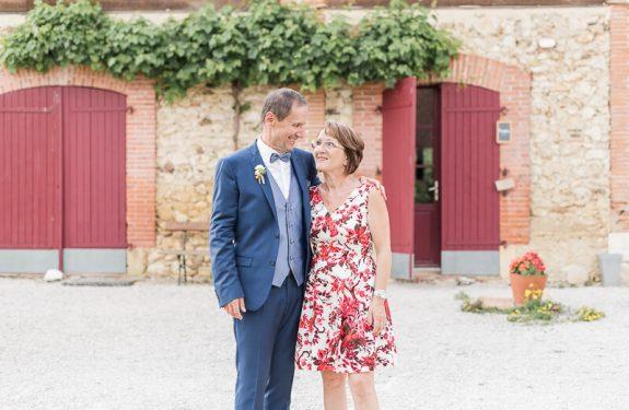 Photos des invités des mariés à la Métairie du Château
