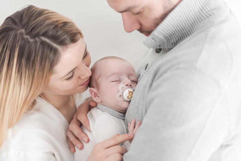Séance photo de bébé naturelle à Toulouse