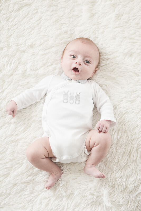 Photo de bébé de 3 mois à Toulouse