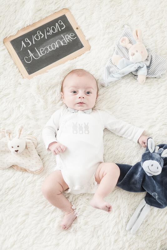 Photo de faire-part bébé à Toulouse