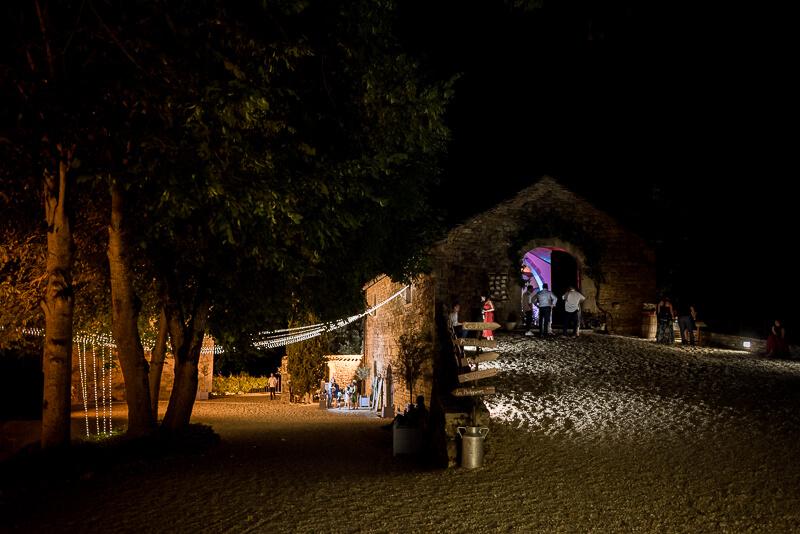 Soirée de mariage au Château de Cas