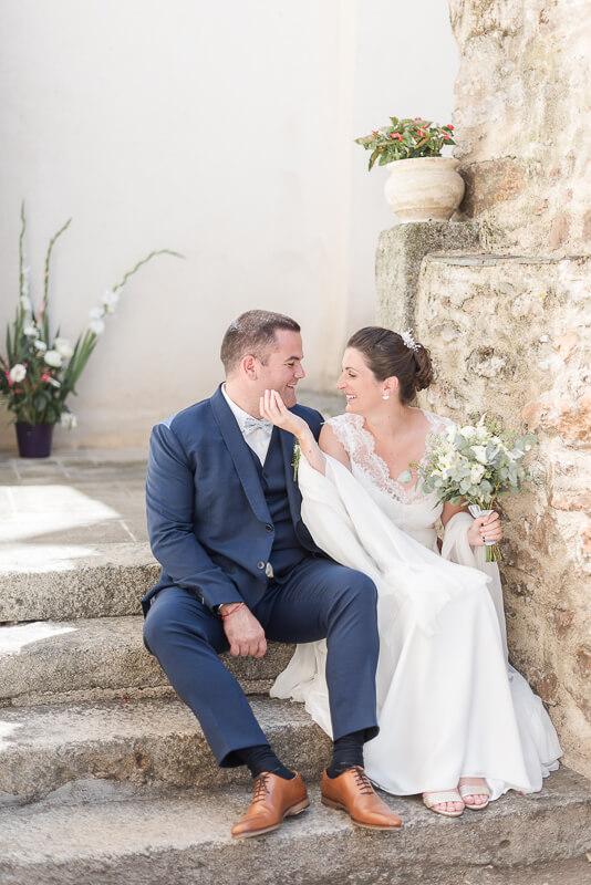 Photo de mariage dans l'Aveyron à Najac