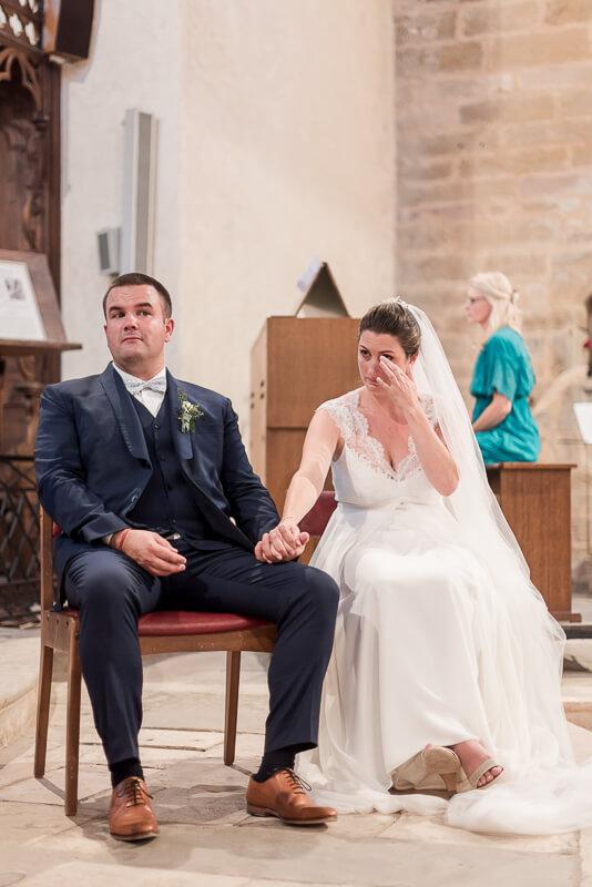 Photographe de mariage religieux dans l'Aveyron