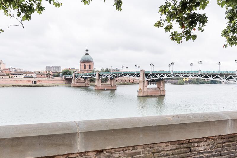 Une séance photo à Toulouse sur les bords de la Garonne