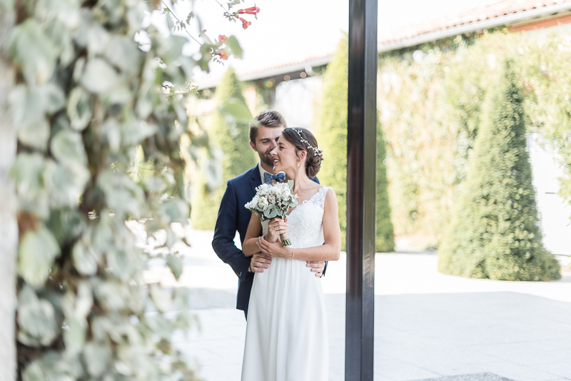 Se marier au Manoir du Prince à Toulouse, photo de couple des mariés
