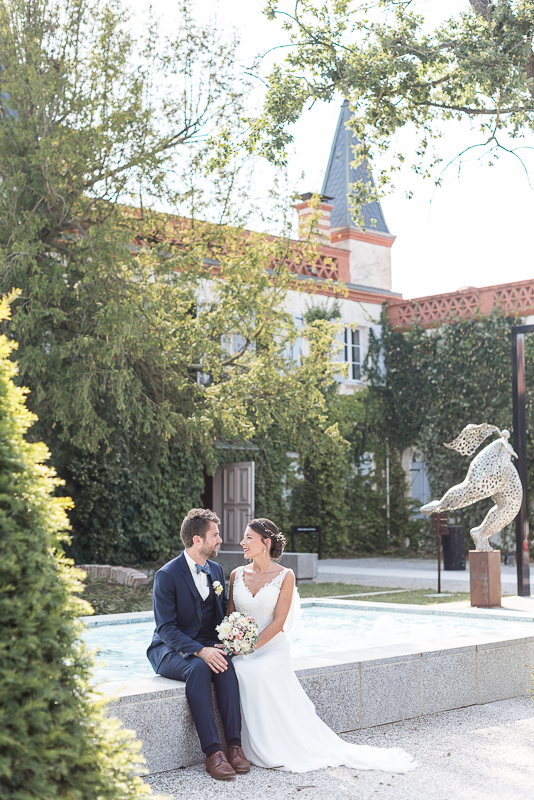 Photo de mariage au Manoir du Prince à Toulouse