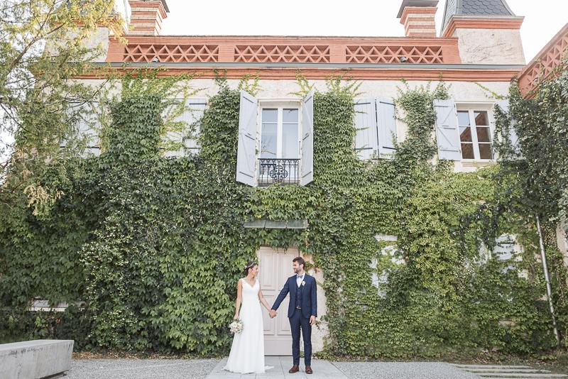 Photographe de mariage au Manoir du Prince à Toulouse