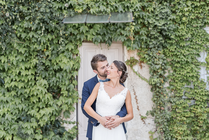 Photo de mariage au Manoir du Prince à Toulouse, photo de couple des mariés