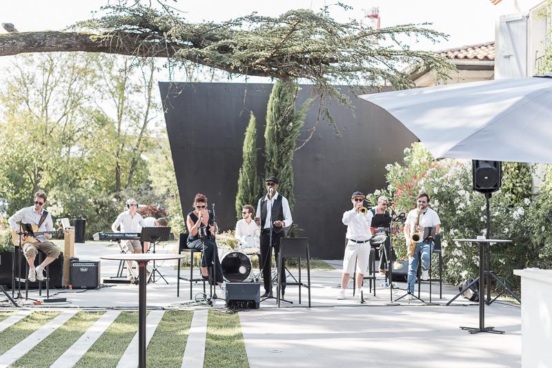 Mariage au Manoir du Prince, groupe de musique live Ze Funky Family