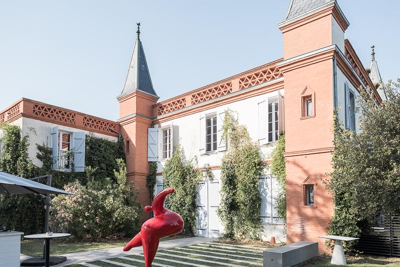 Mariage au Manoir du Prince, le vin d'honneur sur la terrasse