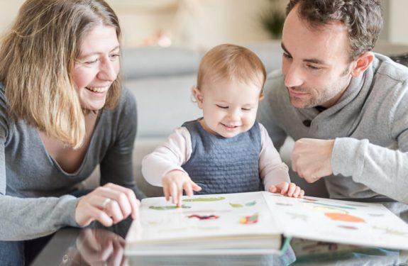 Séance photo en famille à domicile à Toulouse