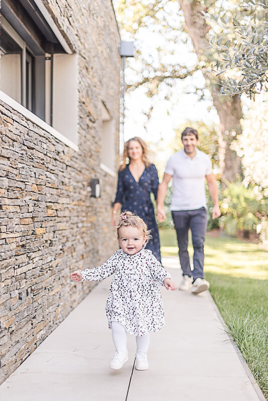 Séance photo de famille à domicile près de Toulouse