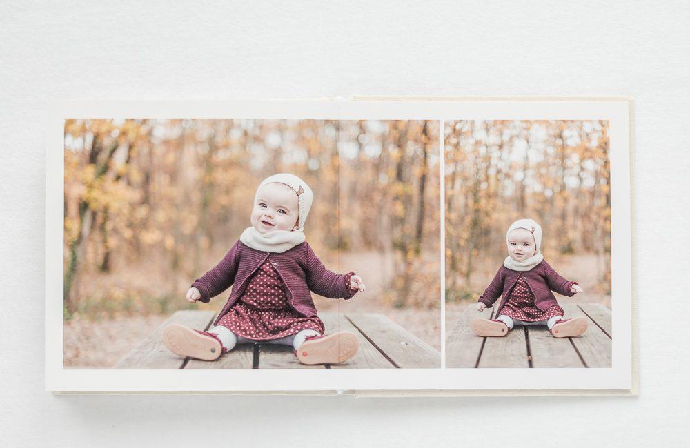 Album photo de qualité après une séance photo avec un photographe à Toulouse