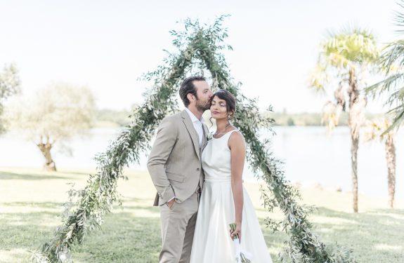 Photographe de mariage à Toulouse - mariage minimaliste au Domaine de Borde Blanque