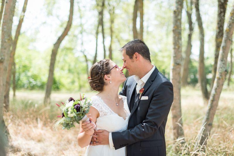 Photo de mariés heureux à Toulouse - Christelle Lacour Photographe
