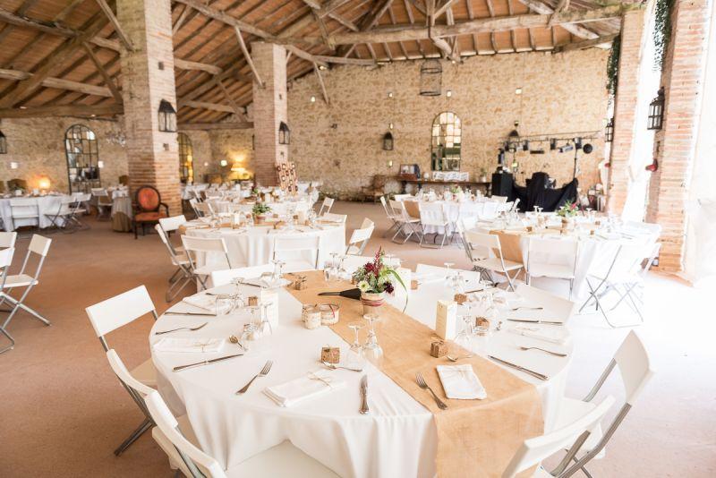 Photo de décoration de mariage musical à la Grange de Pagayrac - Christelle Lacour Photographe
