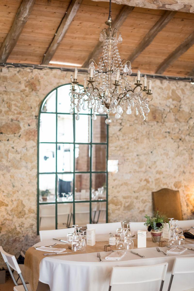 Photo de la table des mariés au domaine de Pagayrac - Christelle Lacour Photographe