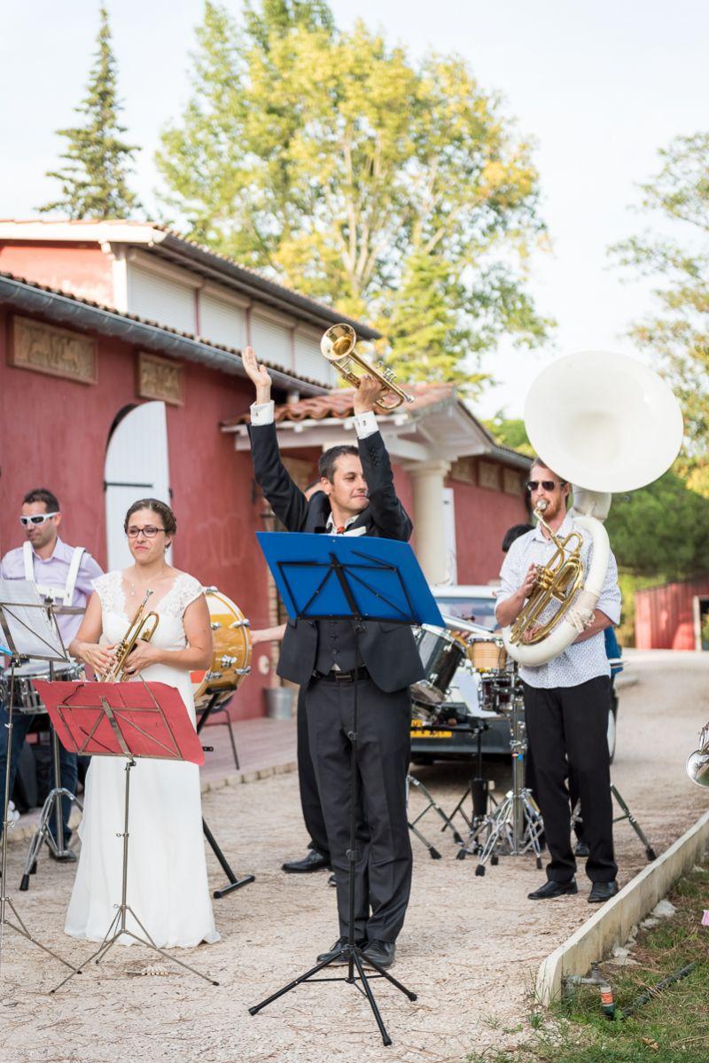 Photographe de mariage au domaine de Pagayrac - mariage en musique - Christelle Lacour Photographe