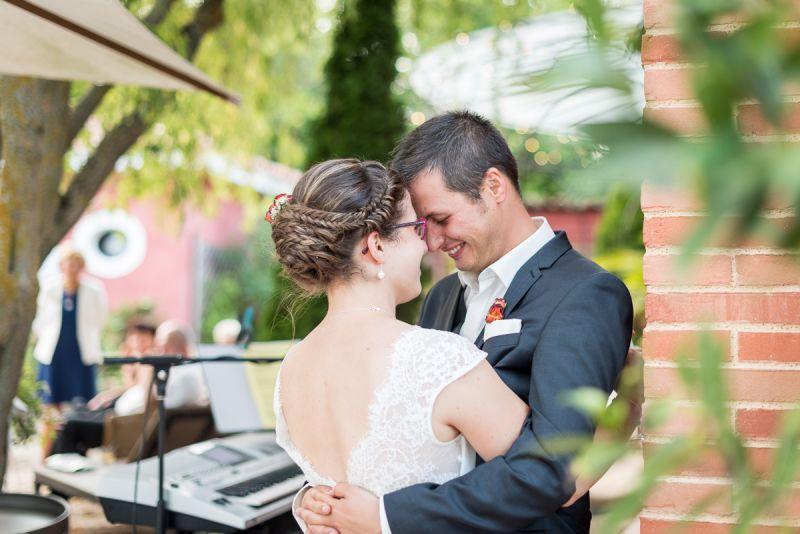 Emotion des mariés - photographe de mariage au domaine de Pagayrac - Christelle Lacour Photographe