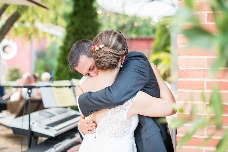 Emotions des mariés - mariage au domaine de Pagayrac - Christelle Lacour Photographe