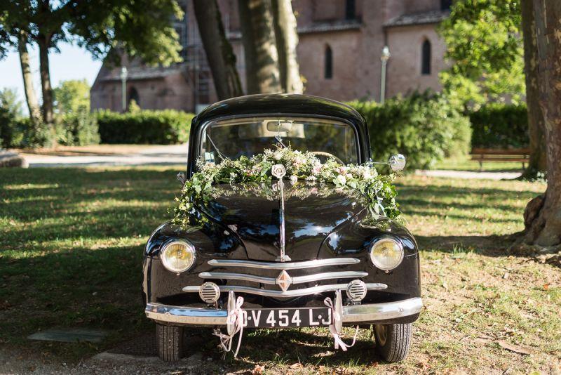 Traction des mariés dans le Tarn à Lavaur, Christelle Lacour Photographe